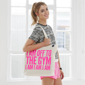 'Off To The Gym' Bag - clothing & accessories