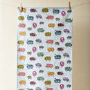 Sheep In The Snow Tea Towel