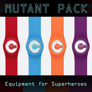 Mutant Total Pack: Four Clicloc Classic Watches - watches
