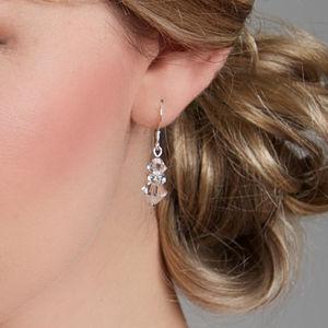 Wedding Earrings Crystal And Diamante Drops - bridal edit