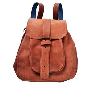 Leather Backpack - luggage