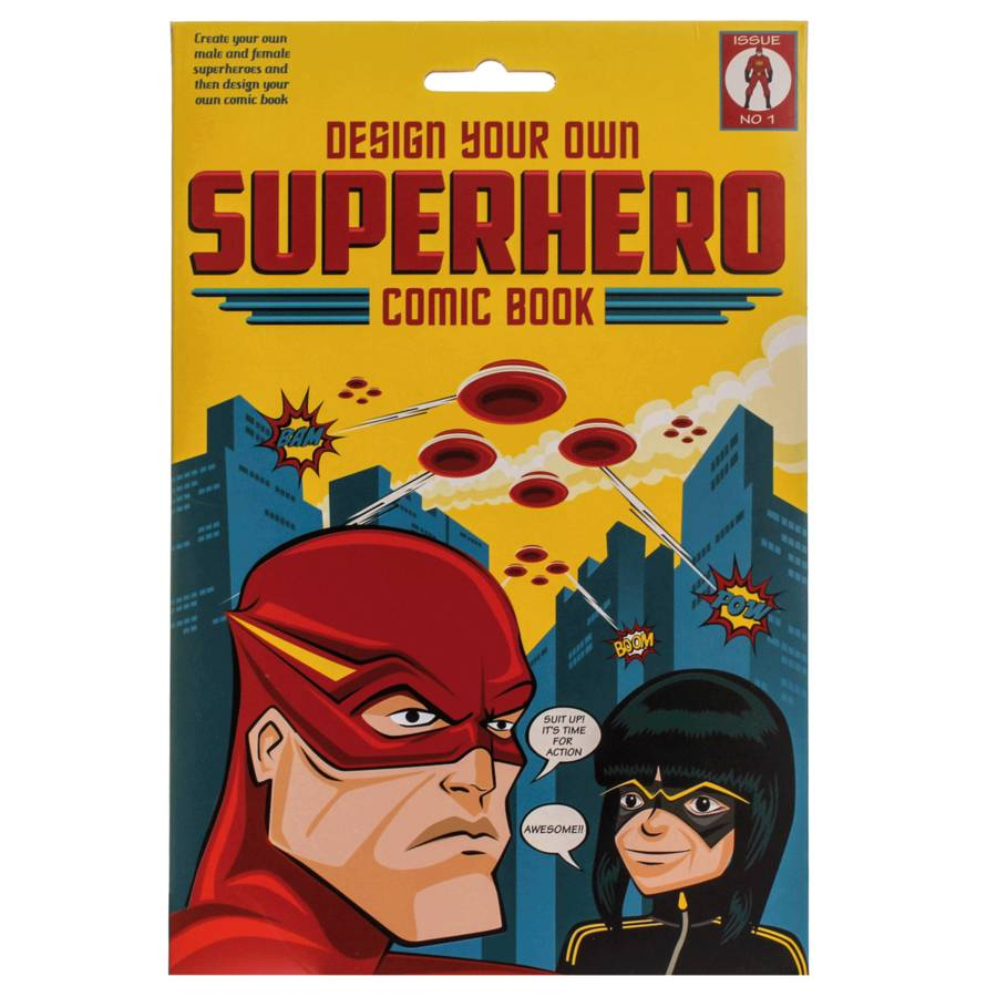 design your own superhero comic book by clockwork soldier ...