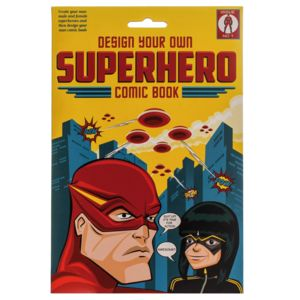 Design Your Own Superhero Comic Book - party bags and ideas