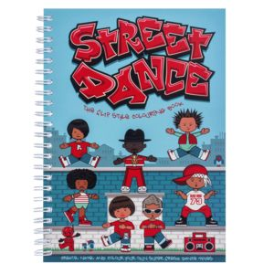Street Dance The Colouring Book