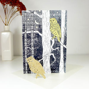 Plantable Owl Card - christmas cards