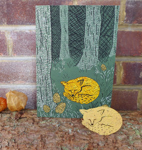 Plantable Fox Card - cards & wrap