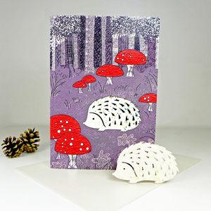 Plantable Hedgehog Card - cards & wrap