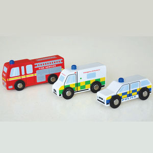 Train Track Compatible Emergency Vehicles