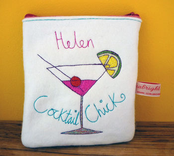 Cocktail Chick Purse