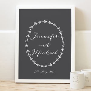 Personalised Couples Print - view all sale items