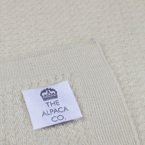 The Alpaca Co. Baby Blanket - soft furnishings & accessories