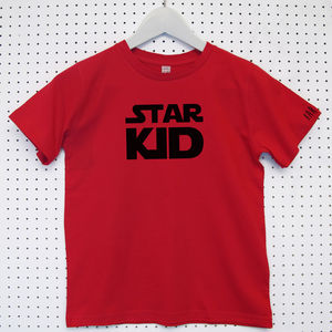Personalised Star Wars Child's Organic Cotton T Shirt - clothing