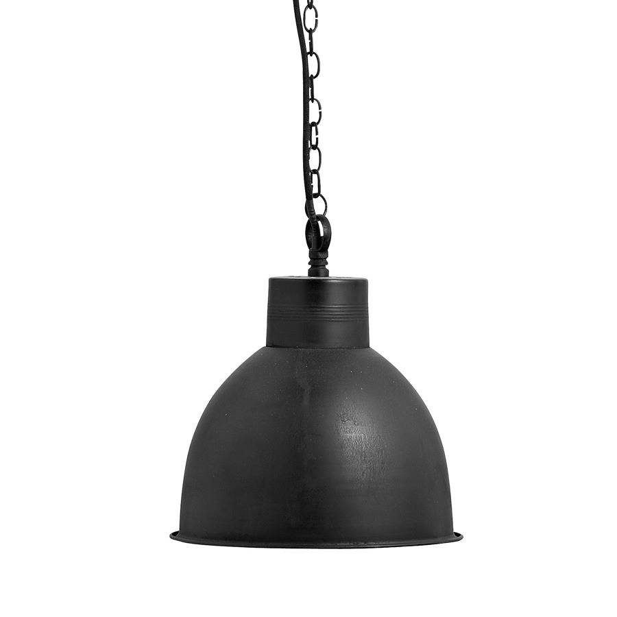 simple industrial hanging lamp in black - Hanging Lamp