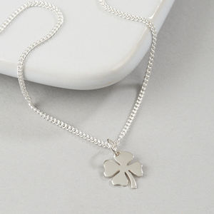 Four Leaf Clover Necklace - necklaces & pendants