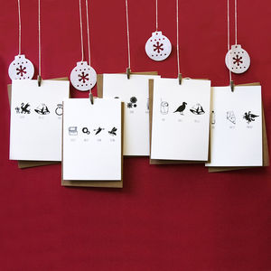 Christmas Card Multipack - seasonal cards