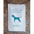 Boxer Tea Towel