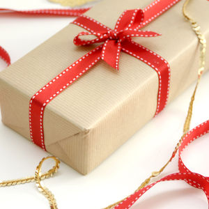Kraft Brown Gift Wrapping Paper - corporate gifts