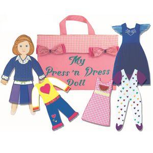 Press And Dress Doll