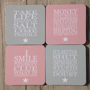 Coaster Set - placemats & coasters