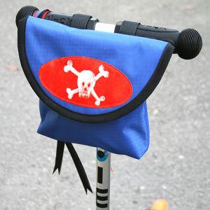 Child's Pirate Handlebar Bag