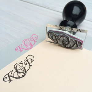 Personalised Monogram Stamp