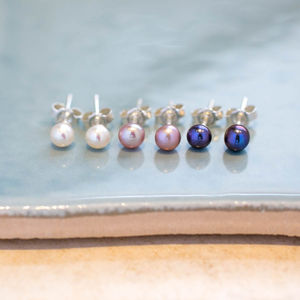Freshwater Pearl Small Earrings - women's jewellery