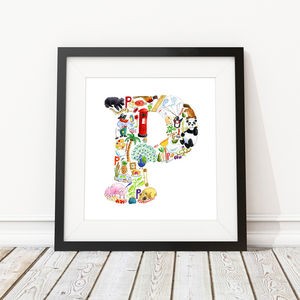 Letter P Print - baby's room