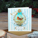 Robin Luxury Personalised Christmas Card