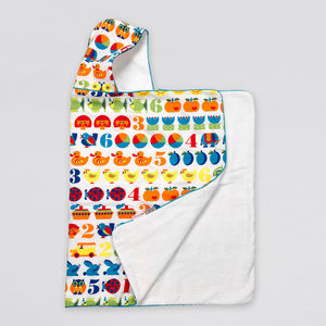 Animals Hooded Towel