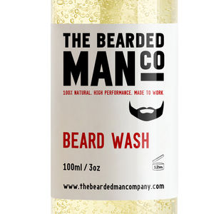 Beard Shampoo Conditioner Male Grooming Conditions Hair - bath & body