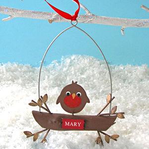 Baby Robin Decoration