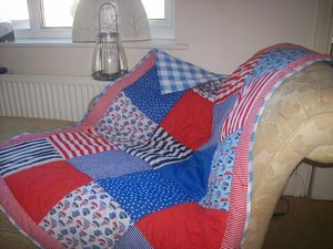 Personalised Nautical Quilt - bedspreads& quilts