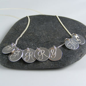 Silver Marry Me Necklace - necklaces & pendants
