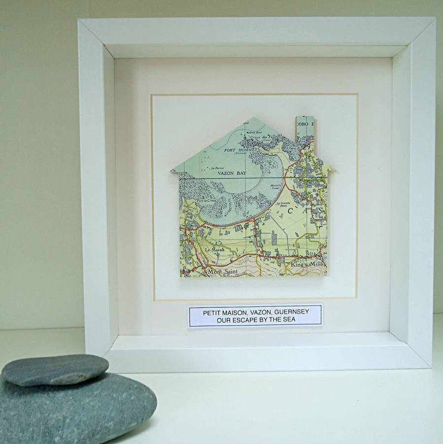 Personalised Home Map Picture