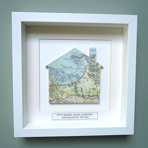 Personalised New Home Gift | Map Picture