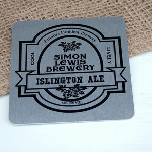 My Brewery Personalised Metal Beer Mat