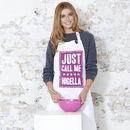 'Just Call Me Nigella' Apron