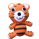 Knitted Cotton Tiger With The Rattle Inside
