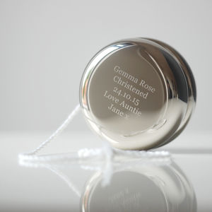 Personalised Christening Yoyo - keepsakes