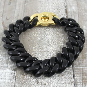 Black Cassini Choker Necklace