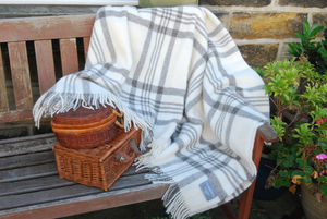 Natural Wool Throws