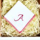 Classic Handmade Personalised Handkerchief