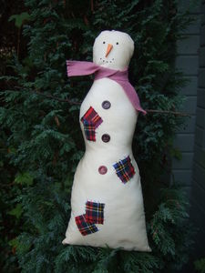 'Patchy' The Fabric Snowman