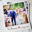 Instant Photo Thank You Cards