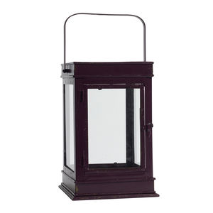 Iron Lantern In Two Colours - outdoor decorations