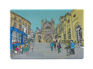 Bath Abbey Fridge Magnet - kitchen accessories