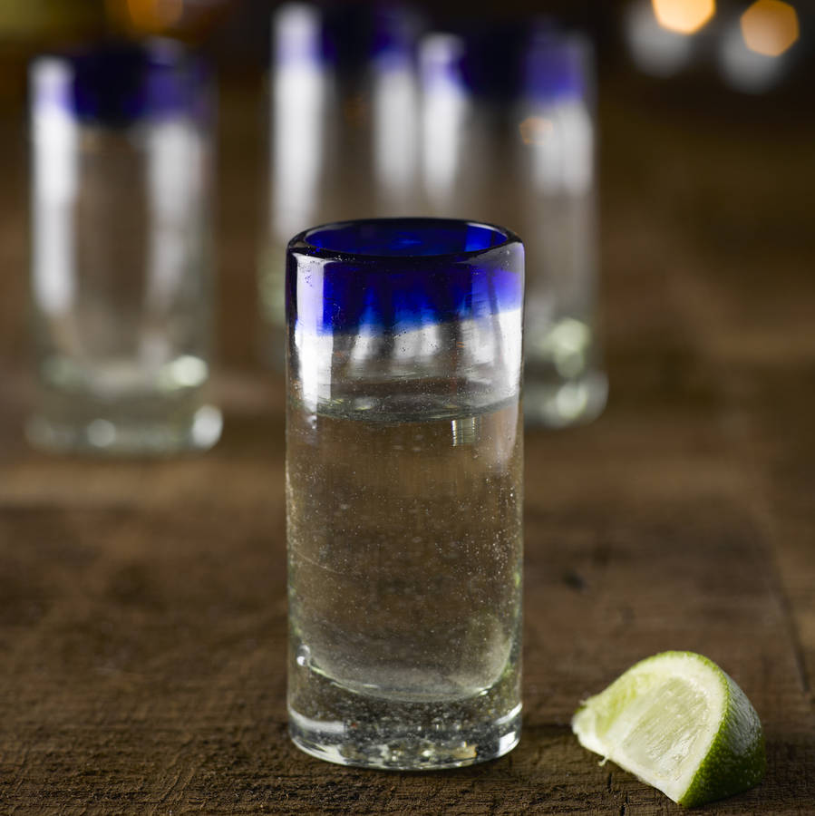 tequila shot glass by bespoke barware