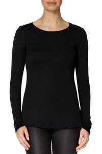 Long Sleeved Round Neck Tshirt - lingerie & nightwear