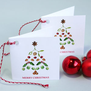 ' Christmas Tree ' Christmas Gift Tags - cards & wrap