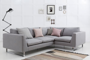 Jasper Modern Corner Sofa With Return Arm - furniture